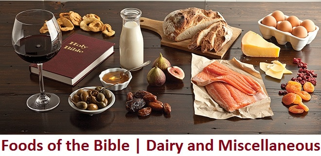 Dairy and Miscellaneous | Foods of the Bible