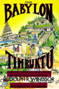 Free PDF Book | From Babylon to Timbuktu: A History of the Ancient Black Races Including the Black Hebrew by Rudolph Windsor