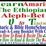 Learn Amharic Alphabet & Ethiopic Script