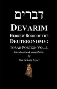 DEVARIM Hebrew Book of Deuteronomy Torah Portion Vol.5