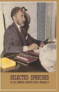 Free PDF Book | Selected Speeches of Haile Selassie I