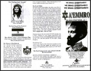 A'EMMRO | Rastafari Study Tracts #01 | WE SHALL OVERSTAND!!!