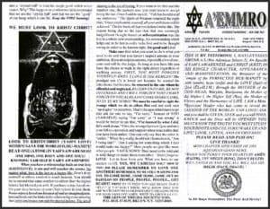 A'EMMRO | Rastafari Study Tracts #23 | WE MUST LOOK TO KRIST/ CHRIST!