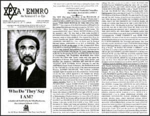A'EMMRO | Rastafari Study Tracts #29 | Who Do They Say I AM?