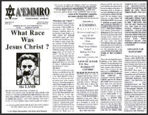 A'EMMRO | Rastafari Study Tracts #5 | What Race Was Jesus Christ?
