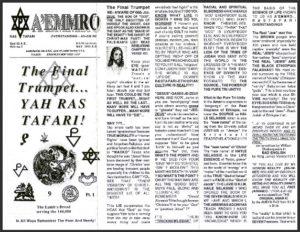 A'EMMRO | Rastafari Study Tracts #7 | The Final Trumpet... YAH RASTAFARI