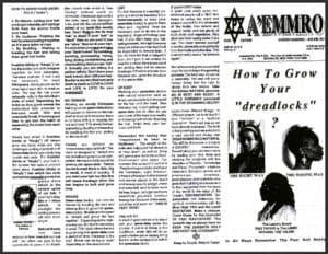"A'EMMRO | Rastafari Study Tracts #9 | How To Grow Your ""dreadlocks""?"