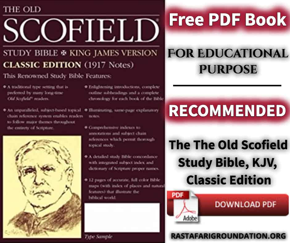 The Old Scofield Study Bible, KJV, Classic Edition | Free PDF Book