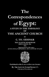 Free PDF Book | The Correspondences of Egypt By C. Th. Odhner