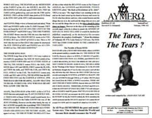 A'EMMRO | Rastafari Study Tracts #31 | The Tares, The Tears?
