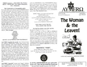 AYMERO | Rastafari Study Tracts #33 | The Woman & the Leaven!