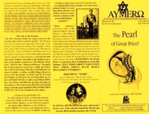 AYMERO | Rastafari Study Tracts #35 | The Pearl of Great Price!