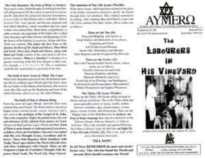 AYMERO | Rastafari Study Tracts #38 | The LaBoUReRs iN HiS ViNeYaRD