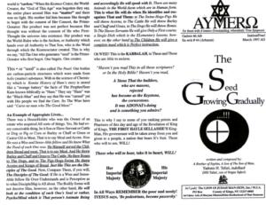 AYMERO | Rastafari Study Tracts #44 | The Seed Growing Gradually...!!!
