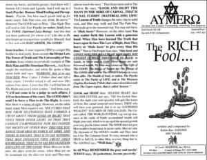 AYMERO | Rastafari Study Tracts #48 | The RICH Fool...