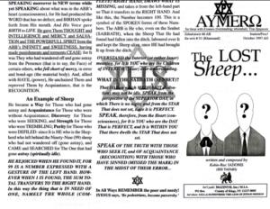 AYMERO | Rastafari Study Tracts #51 | The LOST Sheep...