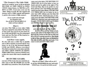 AYMERO | Rastafari Study Tracts #52 | The LOST Coin...