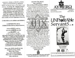 AYMERO | Rastafari Study Tracts #56 | The UNProfitAble ServantS...
