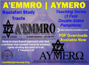 A'EMMRO | AYMERO Rastafari Study Tracts