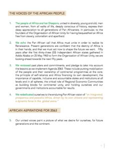 Agenda 2063 pg 1