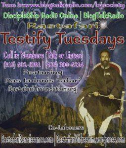 TESTIFY Tuesdays DSR Discipleship RadiO
