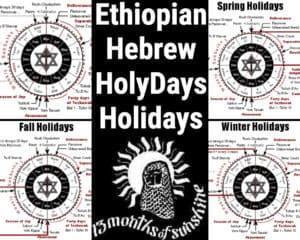 Ethiopian Hebrew HolyDays Holidays