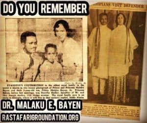 Do You Remember Dr. Malaku E. Bayen