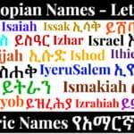 Ethiopian Names - Letter I - Amharic Names የአማርኛ ስሞች
