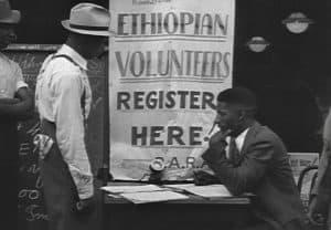 Ethiopian Volunteers Register Here