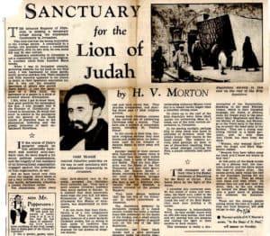 SANCTUARY for the Lion of Judah in JERUSALEM