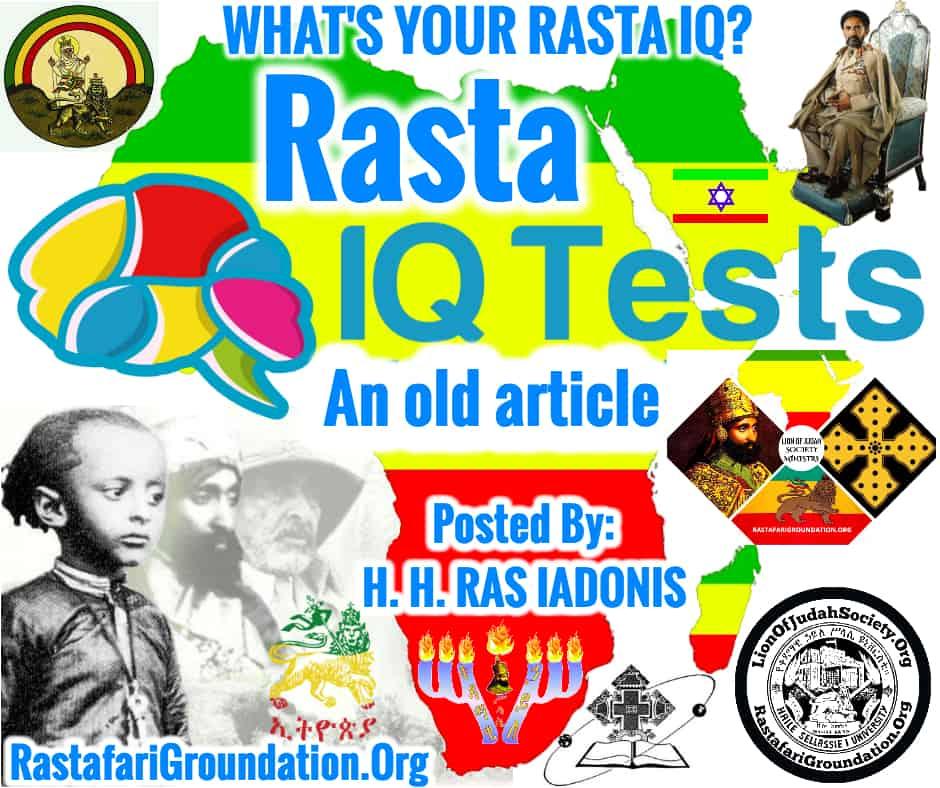 WHAT'S YOUR RASTA IQ?