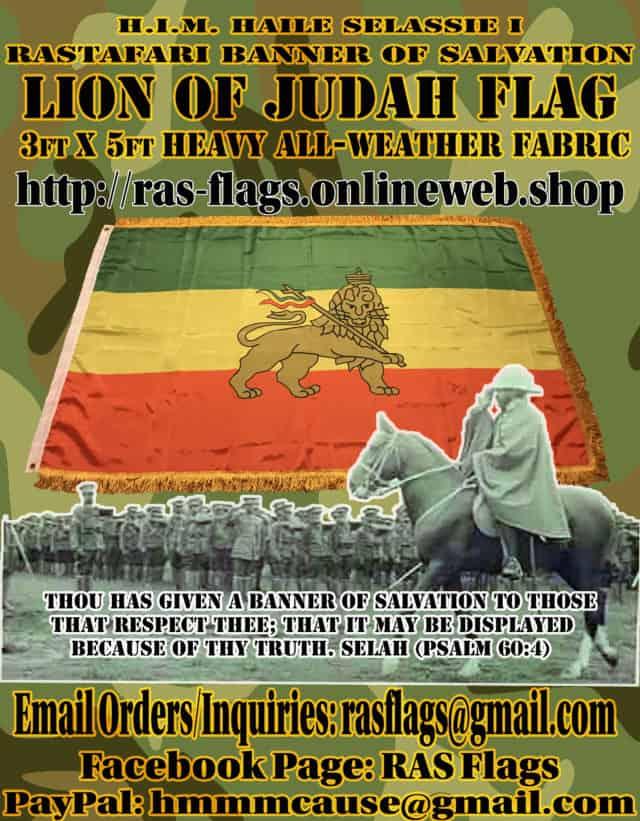 Lion of Judah Sovereign Flag