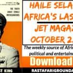 Free PDF Magazine | Haile Selassie I, Africa's Last King - Jet Magazine, October 2, 1952