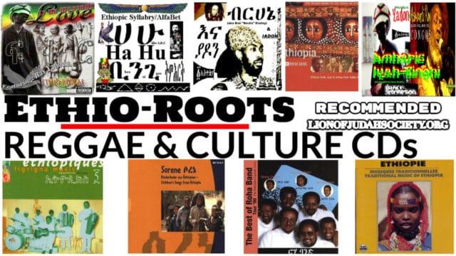 Ethio-Roots, Reggae & Culture CD's