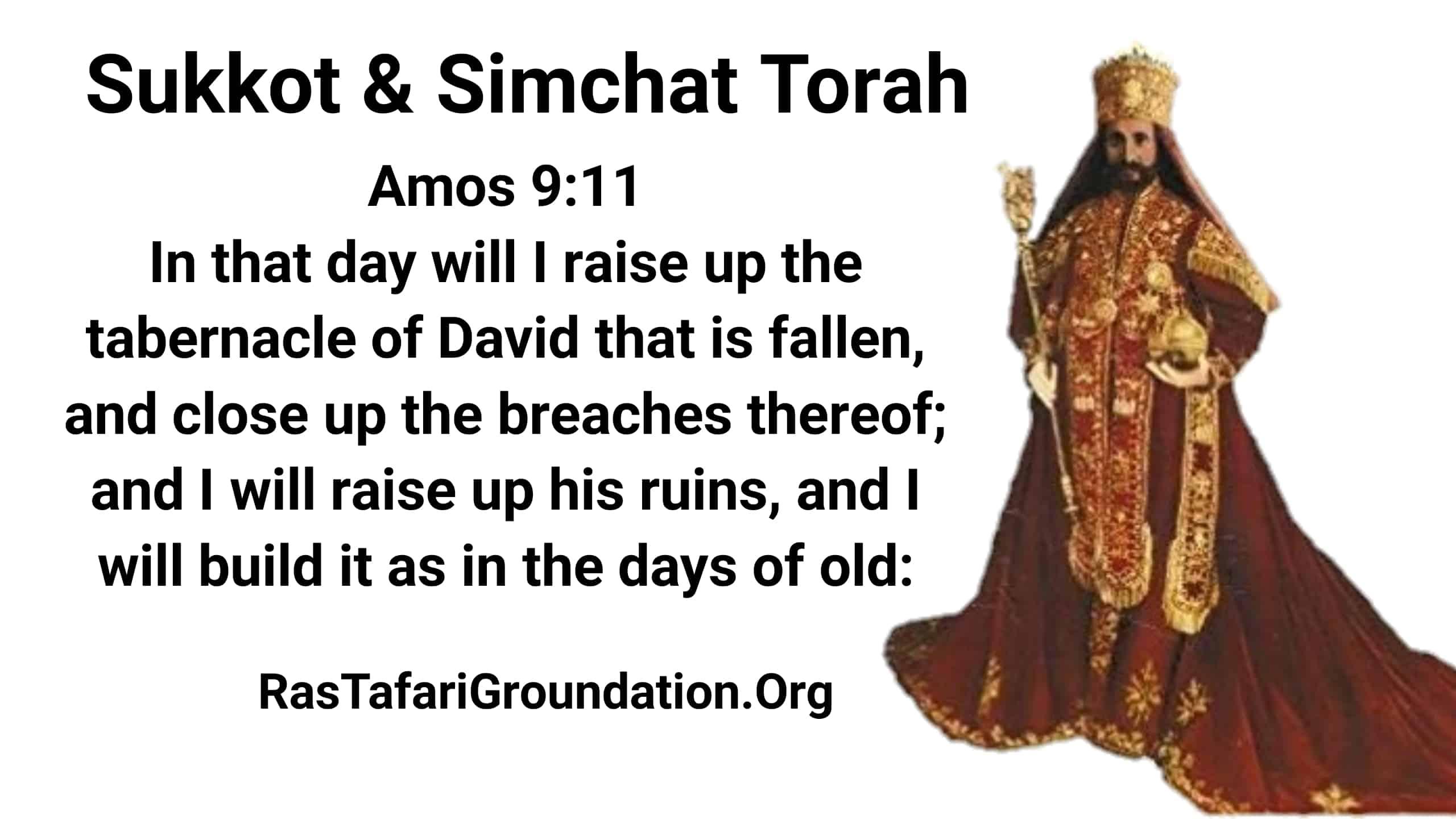 Happy Sukkot (Tabernacles)! Simchat Torah Reading