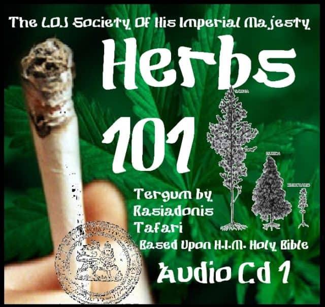 HERBS 101 – MARIJUANA CD
