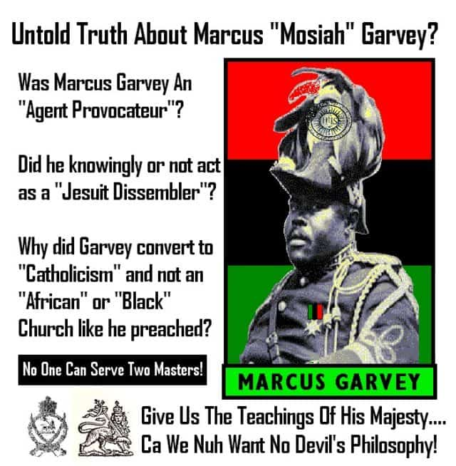 "UNTOLD TRUTH ABOUT MARCUS ""MOSIAH"" GARVEY?"