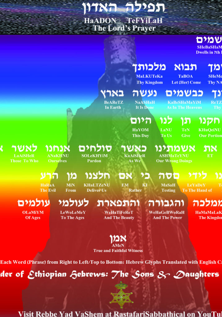 The Lord's Prayer in Hebrew