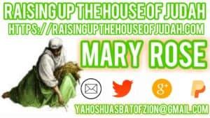 RAISING UP THE HOUSE OF JUDAH